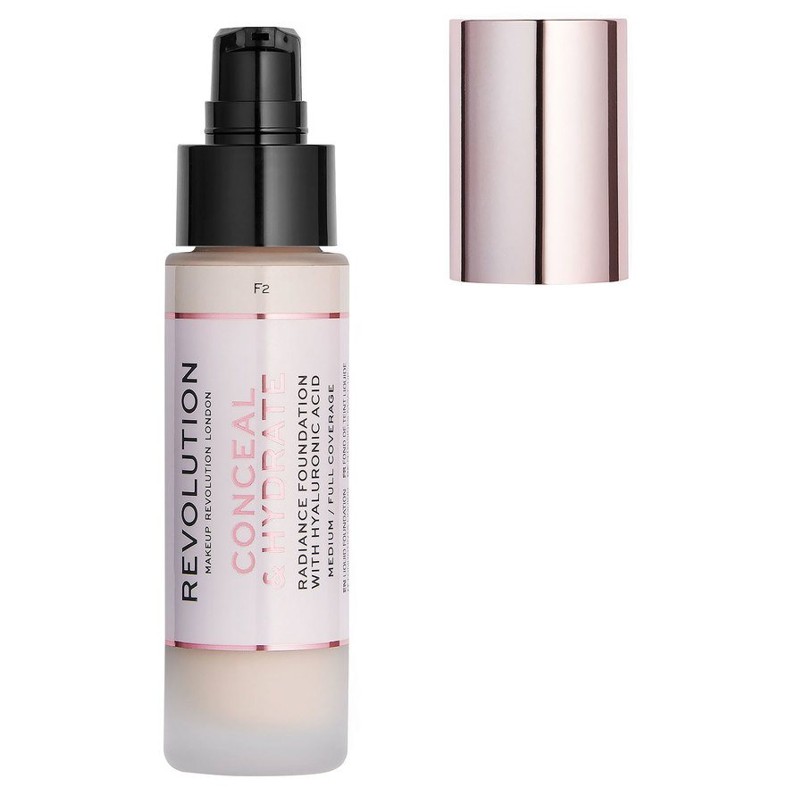 Makeup Revolution Conceal & Hydrate Foundation 23 ml – F2
