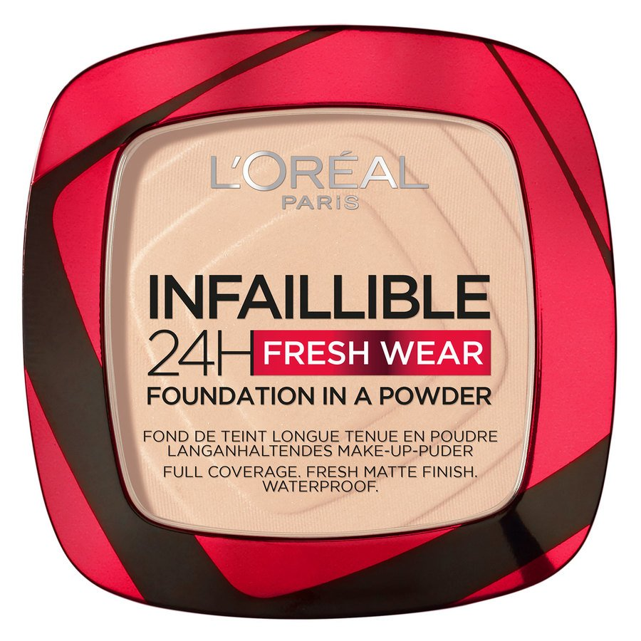 L'Oréal Paris Infaillible 24H Fresh Wear Foundation In A Powder 9 g – Ivory