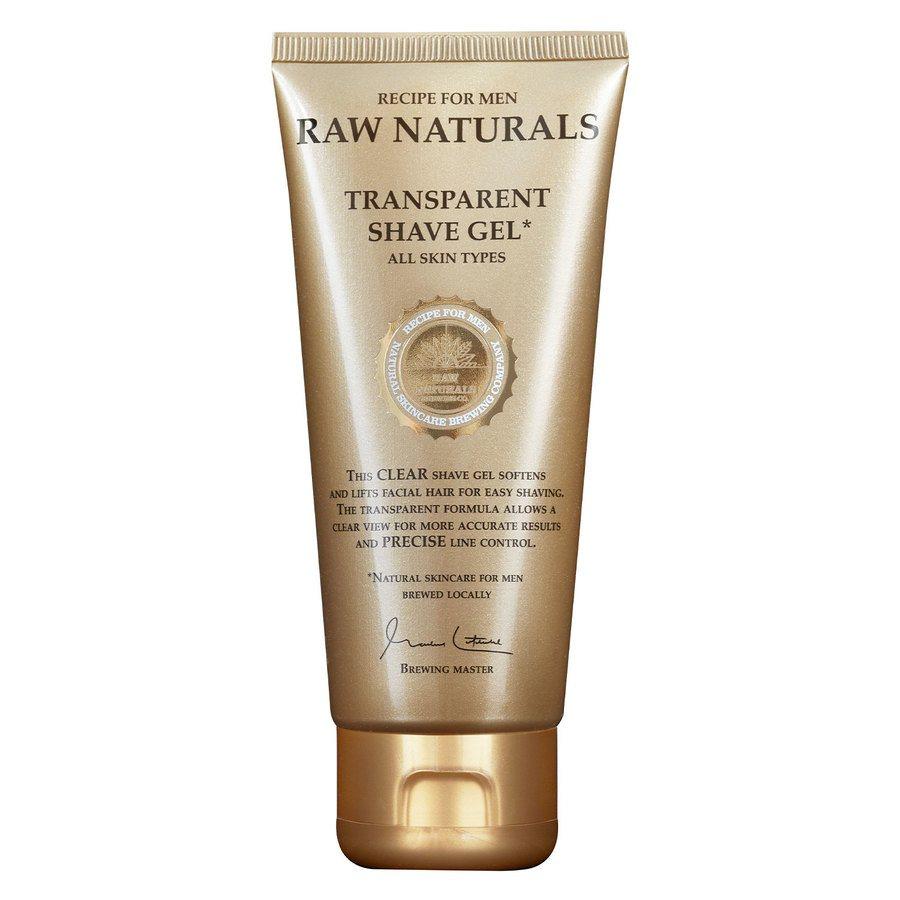 Raw Naturals Transparent Shaving Gel 100 ml