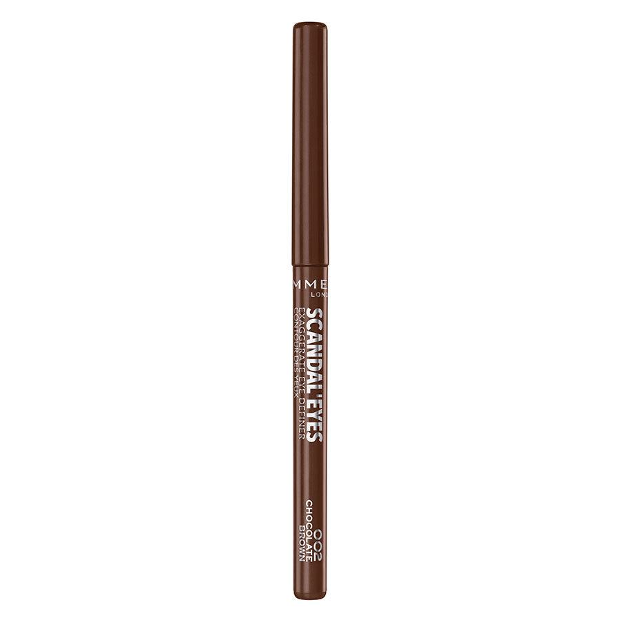 Rimmel London Scandaleyes Exaggerate Eye Definer 0,35 g ─ 002 Chocolate Brown
