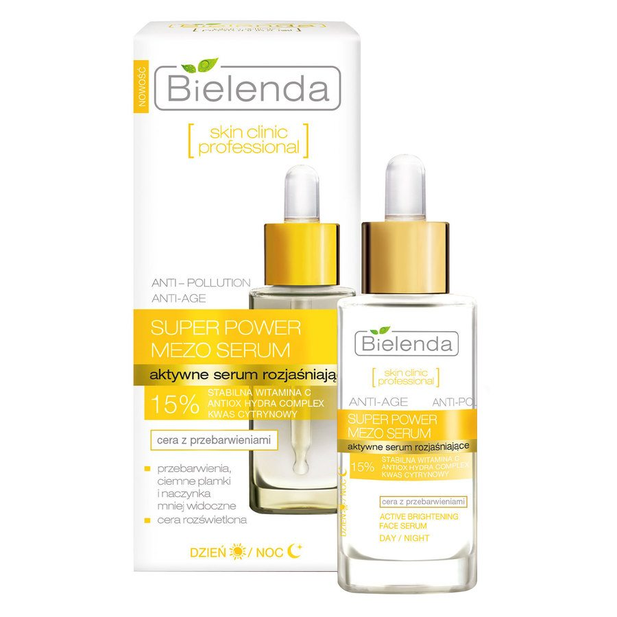 Bielenda Skin Clinic Professional Super Power Mezo Active Brightening Serum 30 ml