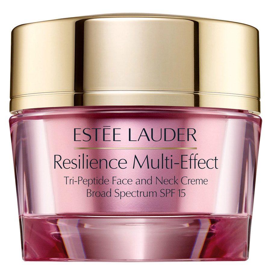 Estée Lauder Resilience Multi-Effect Tri-Peptide Face and Neck Creme Dry SPF15 50ml