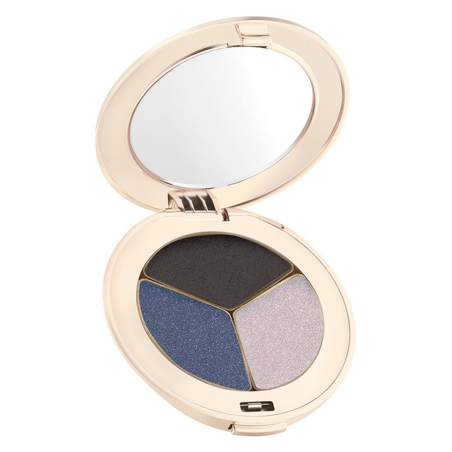 Jane Iredale PurePressed Triple Eye Shadow 2,8 g ─ Blue Hour