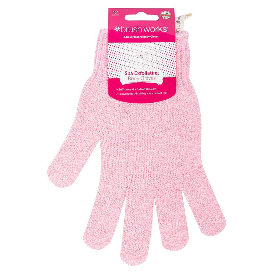 Brush Works Exfoliating Gloves