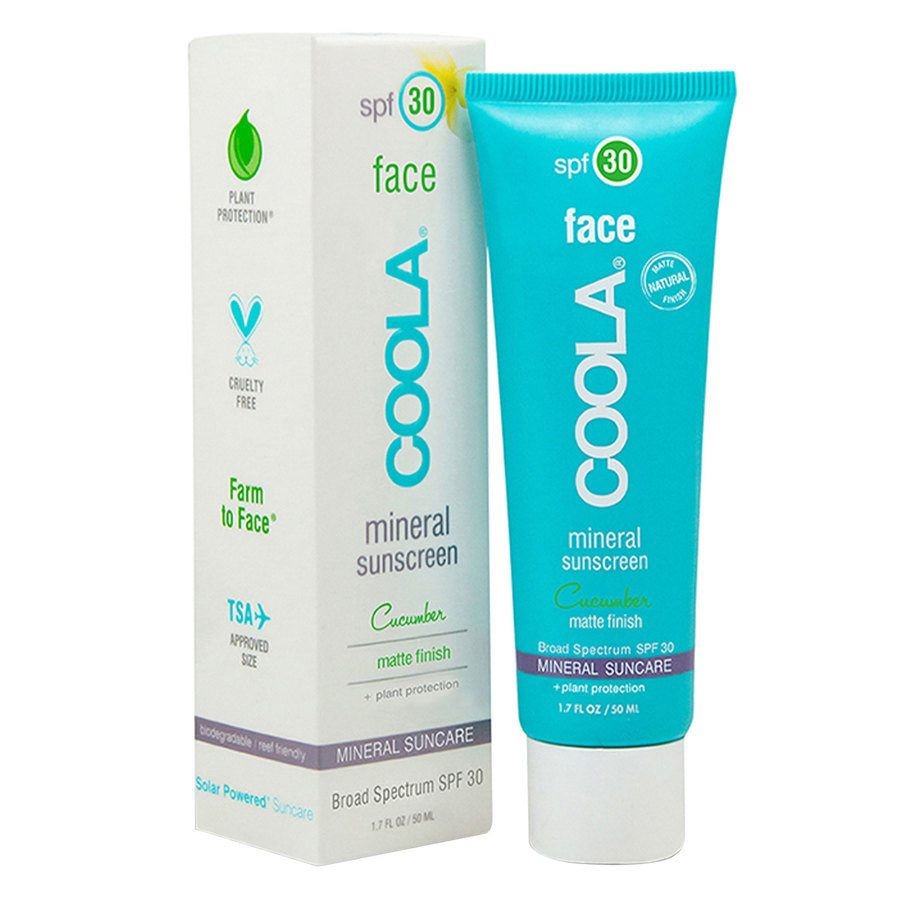 Coola Classic Face Sunscreen SPF30 Cucumber 50ml