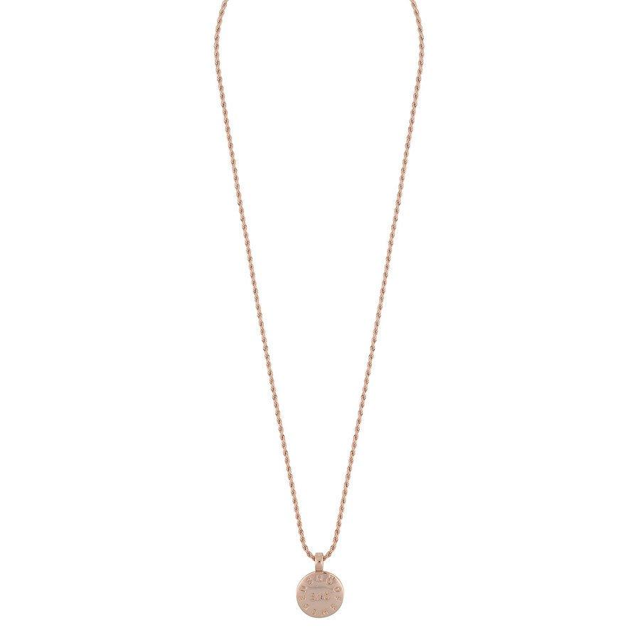 Snö Of Sweden Madeleine Pendant Necklace 42 cm - Plain Rosé