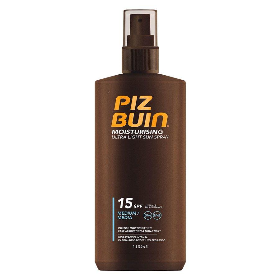 Piz Buin Moisturising Ultra Light Sun Spray SPF 15 200 ml