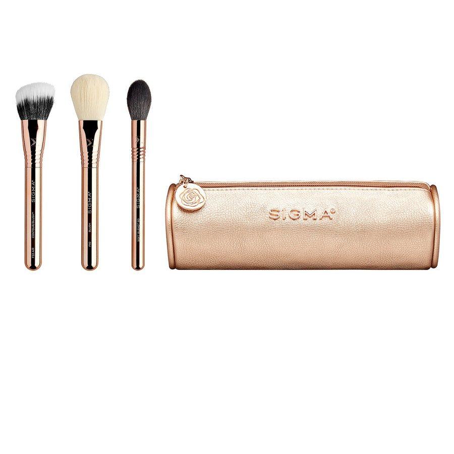 Sigma Bloom + Glow Brush Set 4 kpl