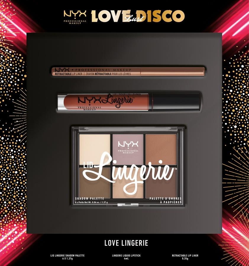 NYX Professional Makeup Love Lust Disco Lingerie Lahjapakkaus