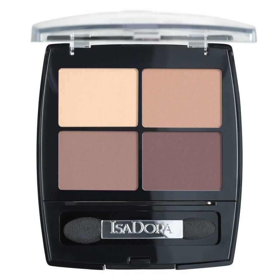 IsaDora Eyeshadow Quartet 5 g – 44 Muddy Nudes