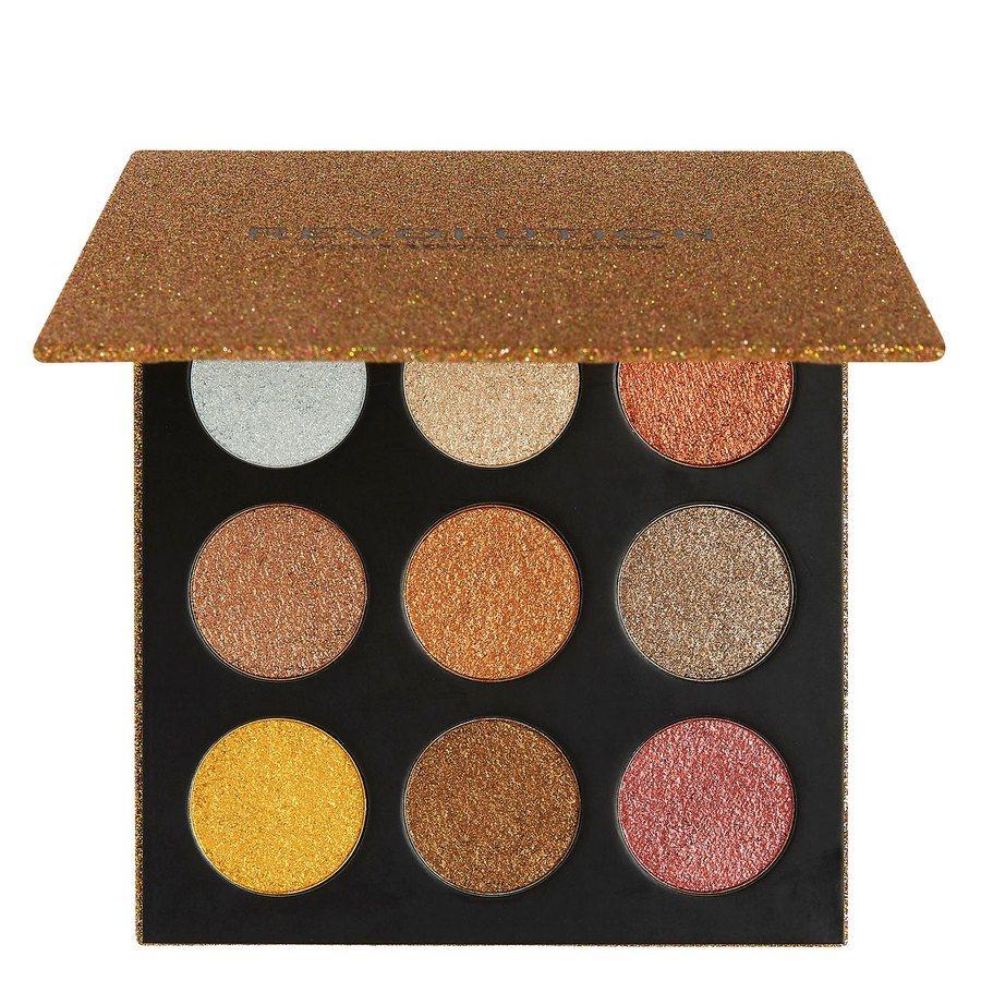Makeup Revolution Euphoric Foil Eyeshadow Palette 18,9 g – Sparkle Up