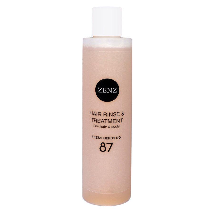 Zenz Organic Hair Rinse & Treatment Fresh Herbs No.87 200 ml