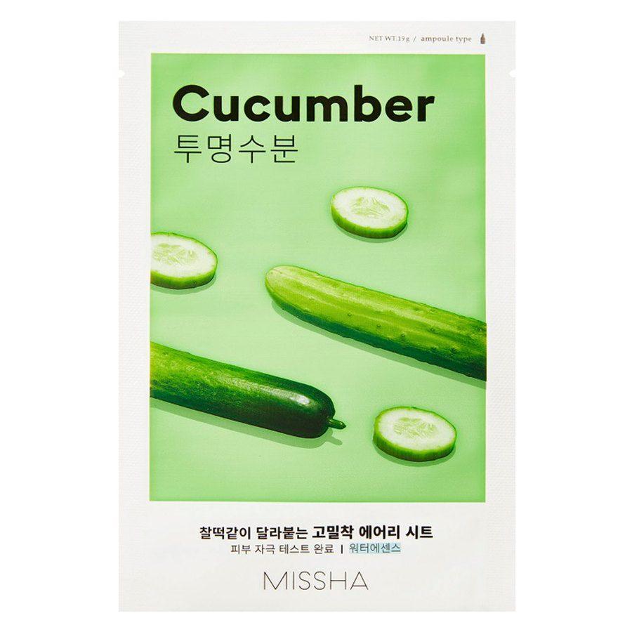 Missha Airy Fit Sheet Mask Cucumber 19 g