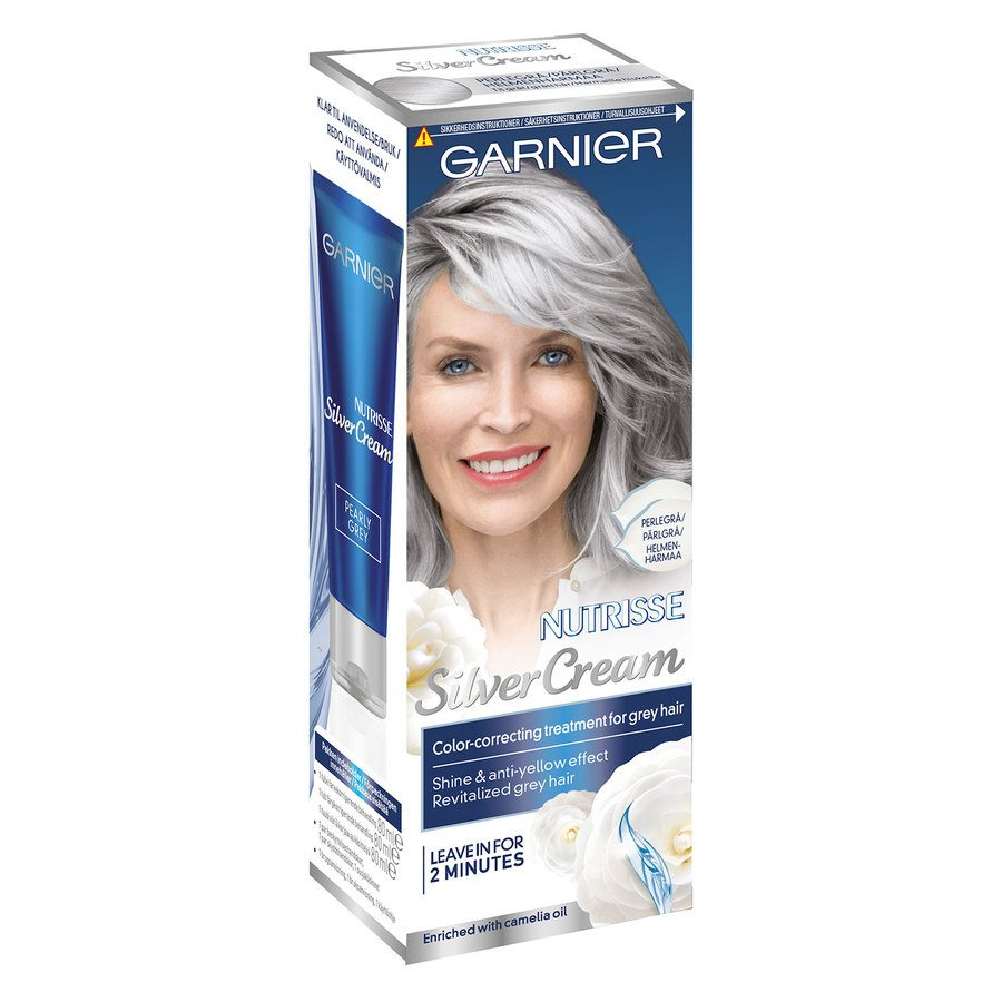 Garnier Nutrisse Silver Cream – Pearly Grey