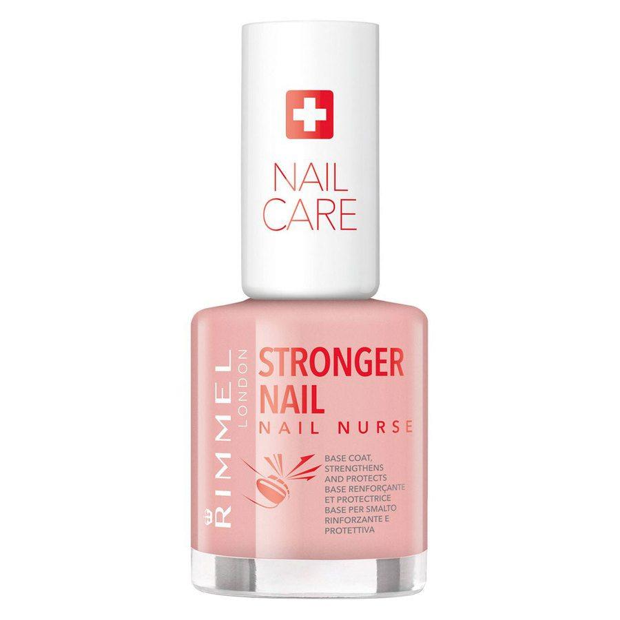 Rimmel Stronger Nail Nurse Base Coat Nail Polish 12 ml ─ Transparent