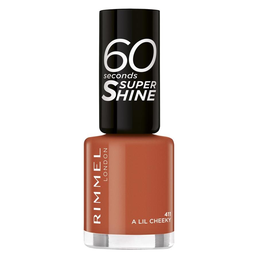 Rimmel London 60 Seconds Super Shine Nail Polish 8 ml – 411