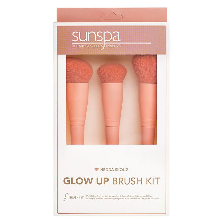Sunspa By Hedda Skoug Glow Up Brush Kit 3 kpl