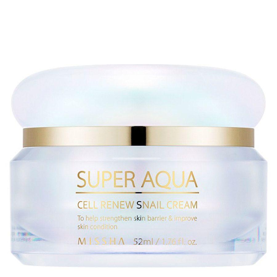 Missha Super Aqua Cell Renew Snail Cream 52 ml