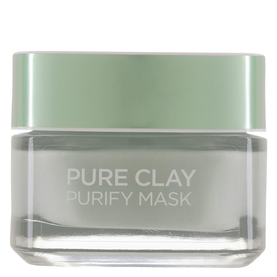 L'Oréal Paris Pure Clay Purify Mask Green 50 ml