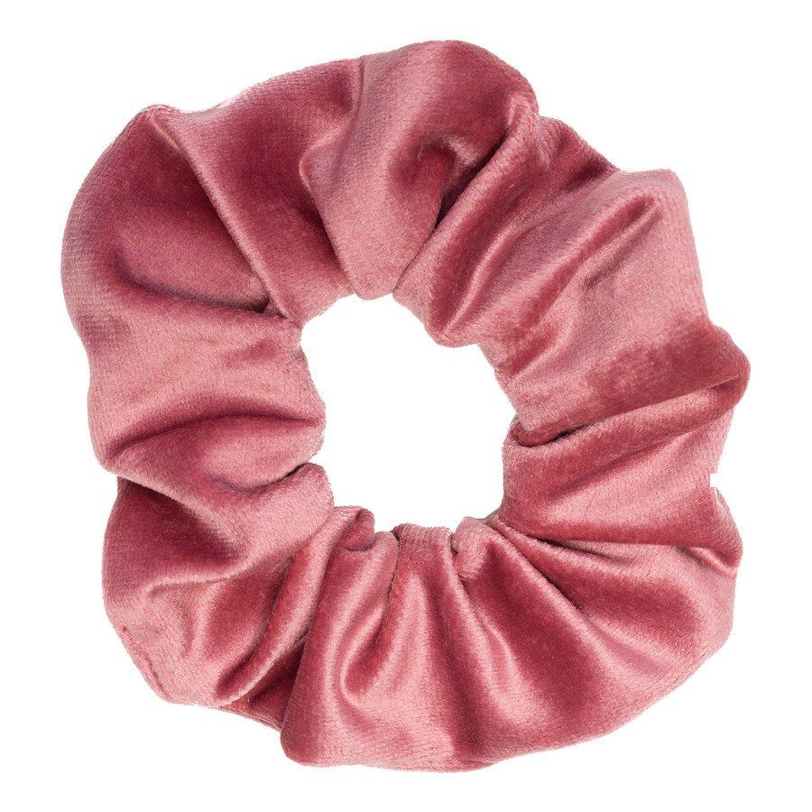 DARK Velvet Scrunchie ─ Dusty Rose