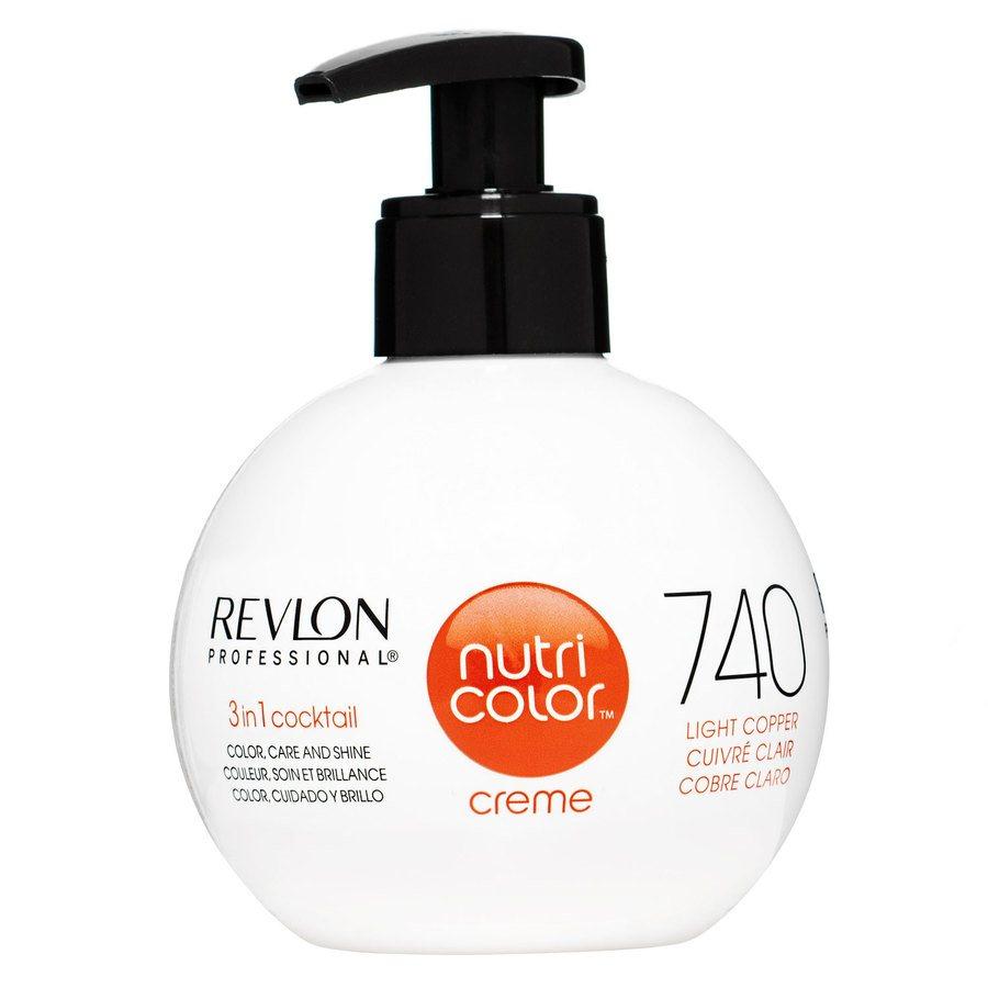 Revlon Professional Nutri Color Creme 270 ml – 740 Light Copper