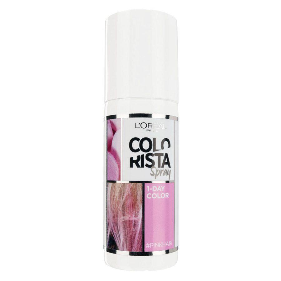 L'Oréal Paris Colorista 1 Day Spray 75 ml - Pastel Pink