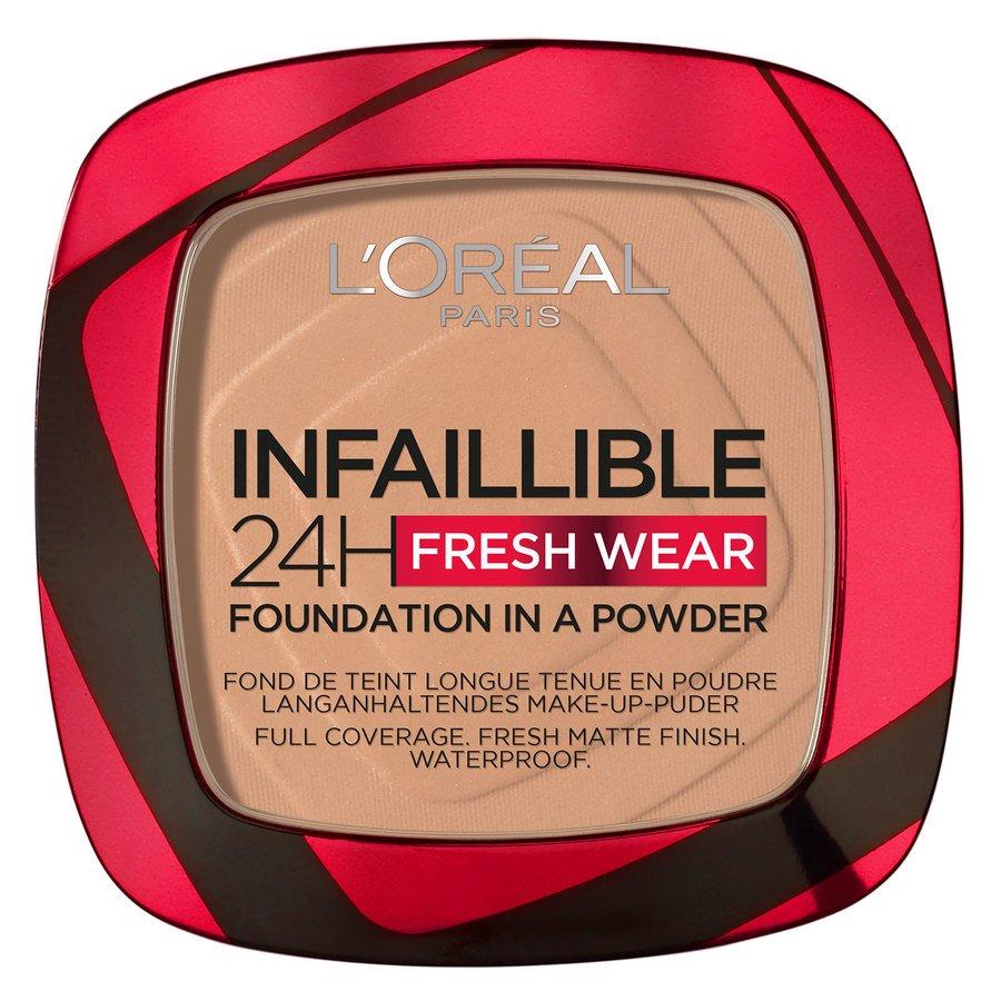 L'Oréal Paris Infaillible 24H Fresh Wear Foundation In A Powder 9 g – Sand