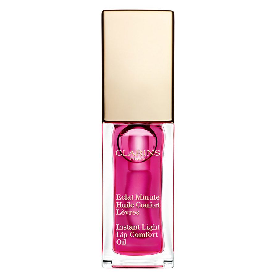 Clarins Instant Light Lip Comfort Oil 7 ml – 02 Raspberry