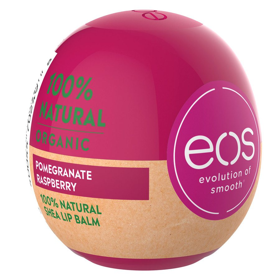 EOS Smooth Sphere Lip Balm – Pomegranate Raspberry 7 g