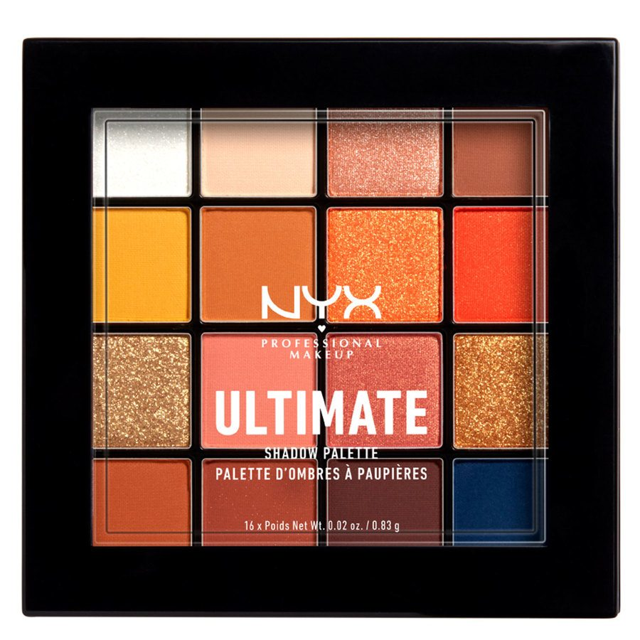 NYX Professional Makeup Ultimate Shadow Palette 16 x 0,83 g – Escape Artist
