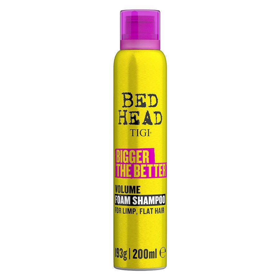 Tigi Bedhead Bigger The Better Foam Shampoo 200ml