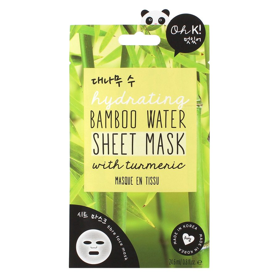 Oh K! Bamboo Water Sheet Mask 24,6 ml