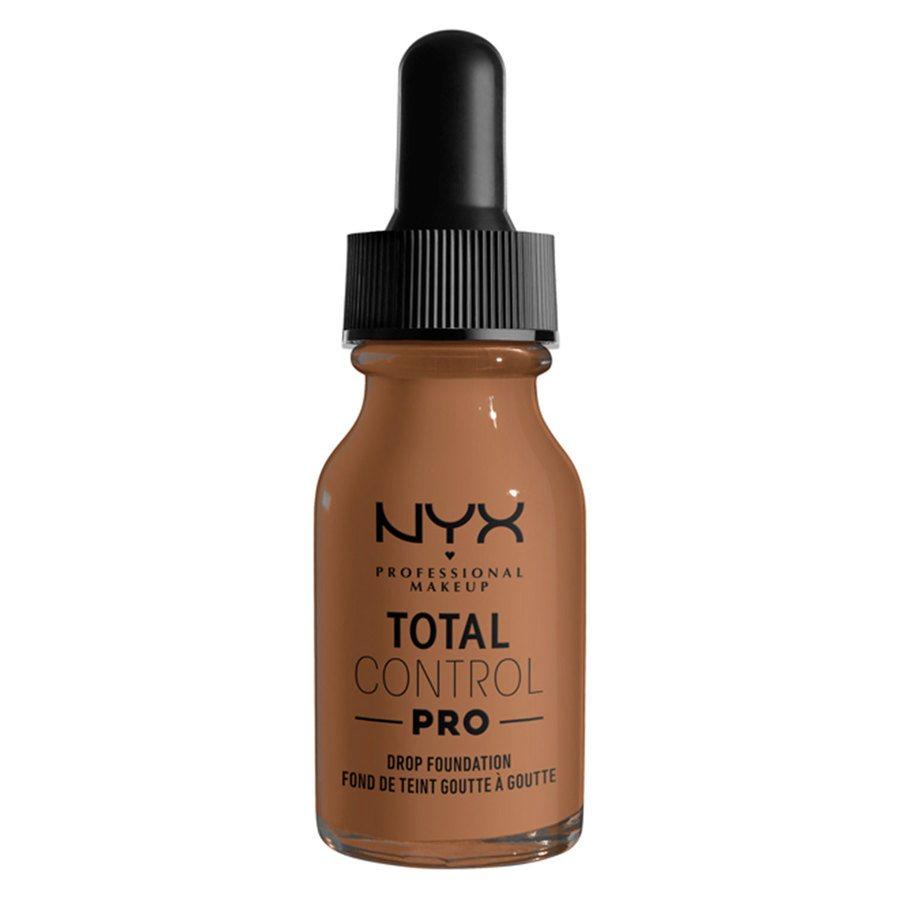 NYX Professional Makeup Total Control Pro Drop Foundation 13 ml ─ Mahogany