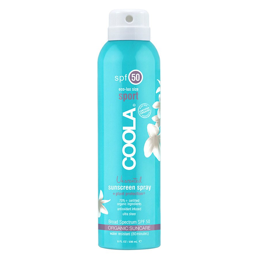 Coola Sport Continuous Spray SPF 50 180 ml – Unscented