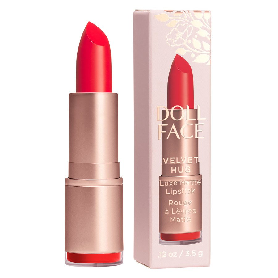 Doll Face Velvet Hug Luxe Matte Lipstick 3,4 g ─ Amore