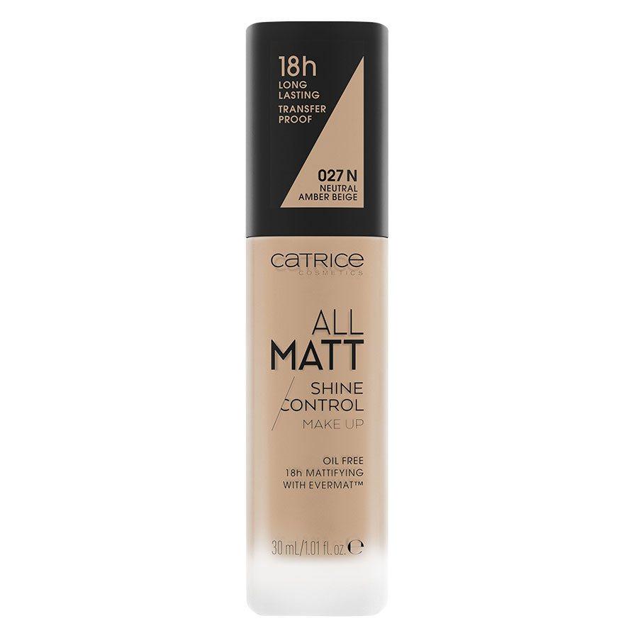 Catrice All Matt Shine Control Make Up 30 ml ─ 027 N Neutral Amber Beige
