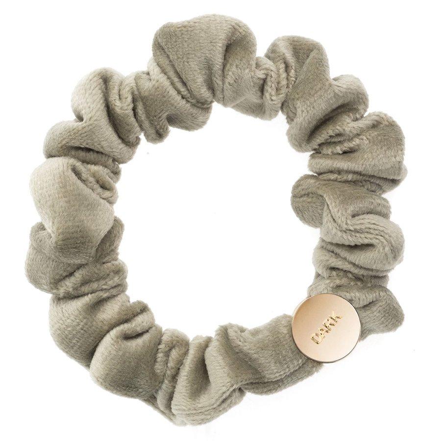 DARK Velvet Mini Scrunchie ─ Faded Army