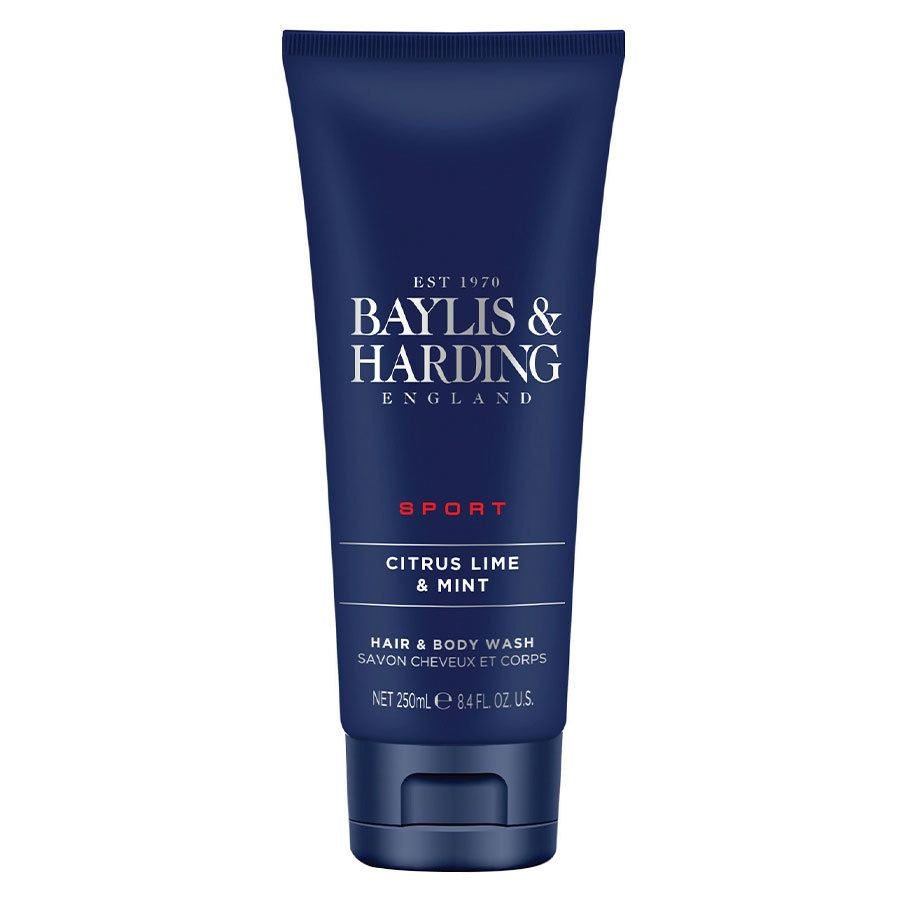 Baylis & Harding Men's Citrus Lime & Mint Hair & Body Wash 250 ml
