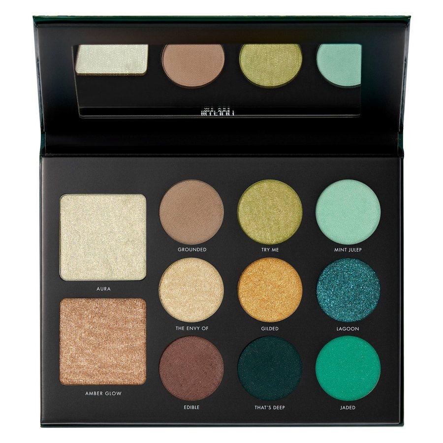 Milani Cosmetics Gilded Jade Hyper-Pigmented Eyeshadow Palette