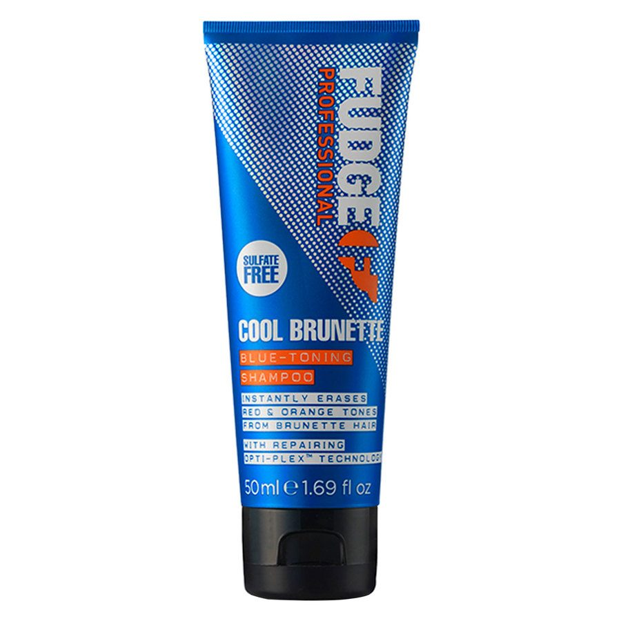 Fudge Cool Brunette Blue Toning Shampoo 50 ml