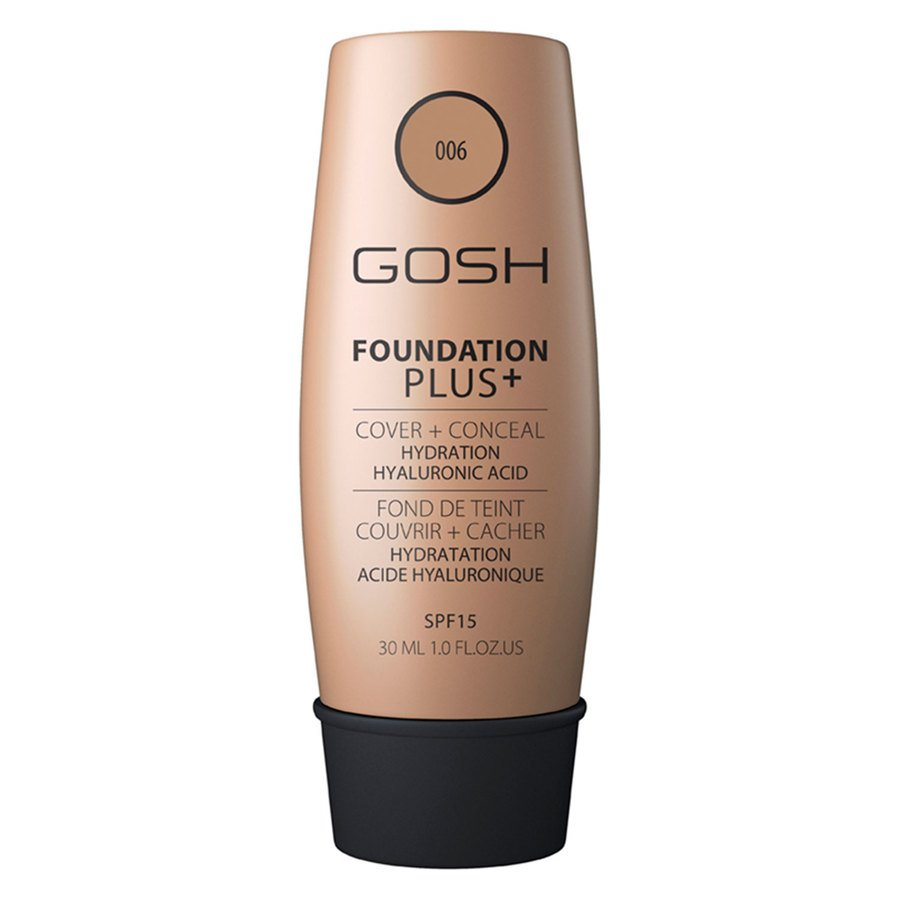 GOSH Foundation Plus+ 30 ml ─ #006 Honey