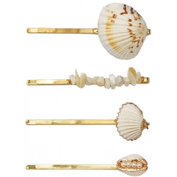 Hairpin Sea Shell ─ 03 Gold