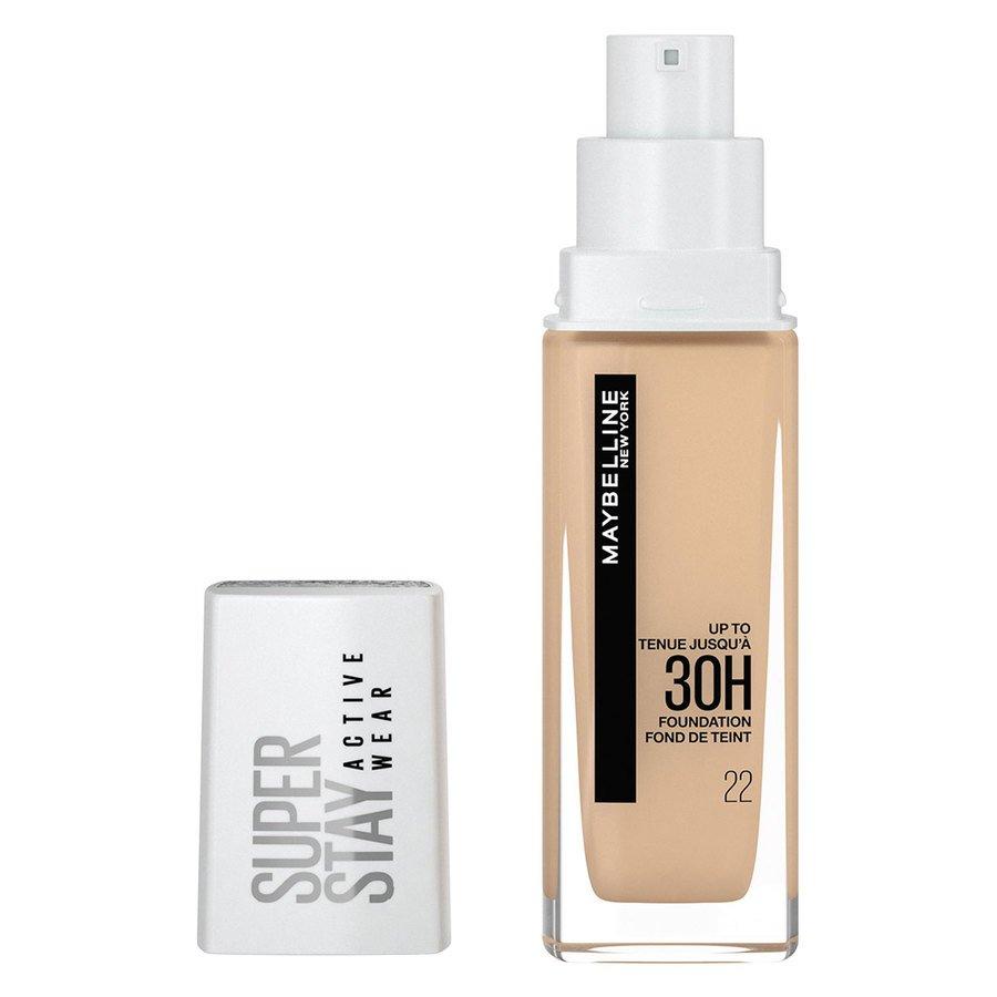 Maybelline 30H Superstay Active Wear Foundation 30 ml – Light Bisque
