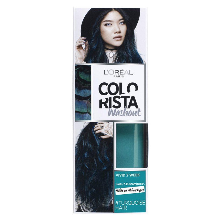 L'Oréal Paris Colorista 2 Weeks Washout 80 ml - 10 Turquoise