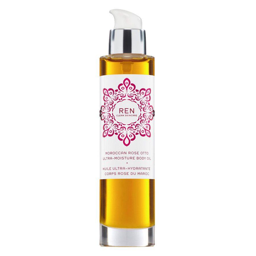 REN Clean Skincare Moroccan Rose Otto Body Ultra-Moisture Body Oil 100 ml
