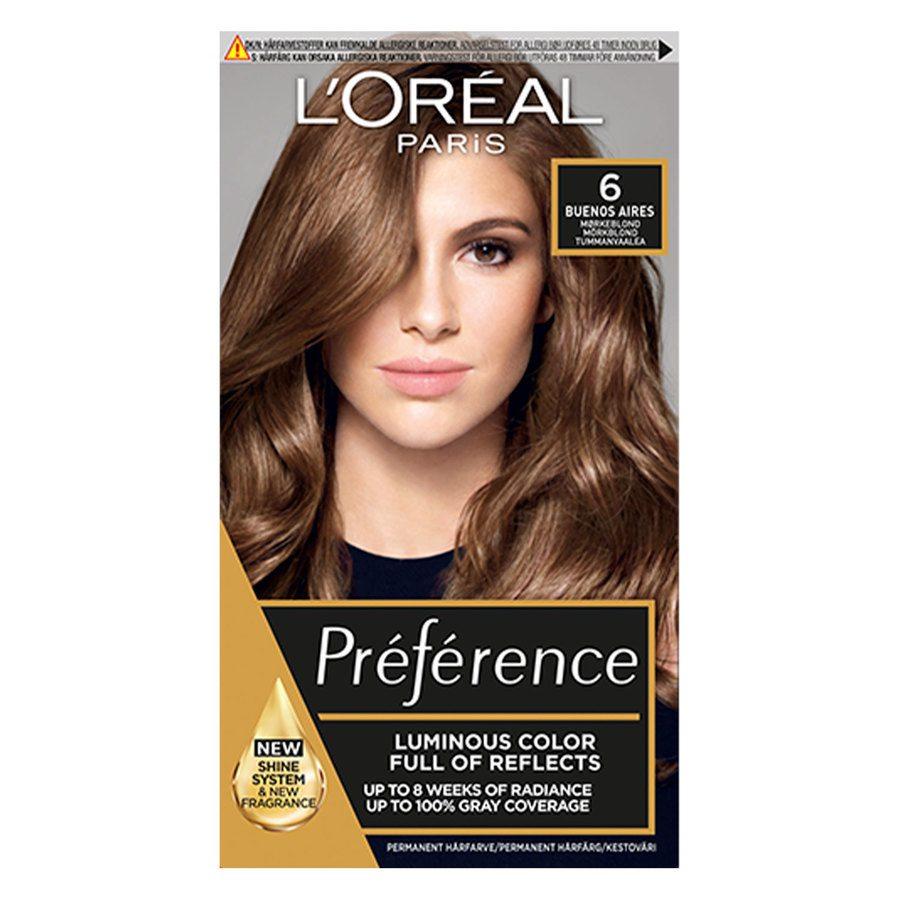 L'Oréal Paris Préférence Core Récital - 6.0