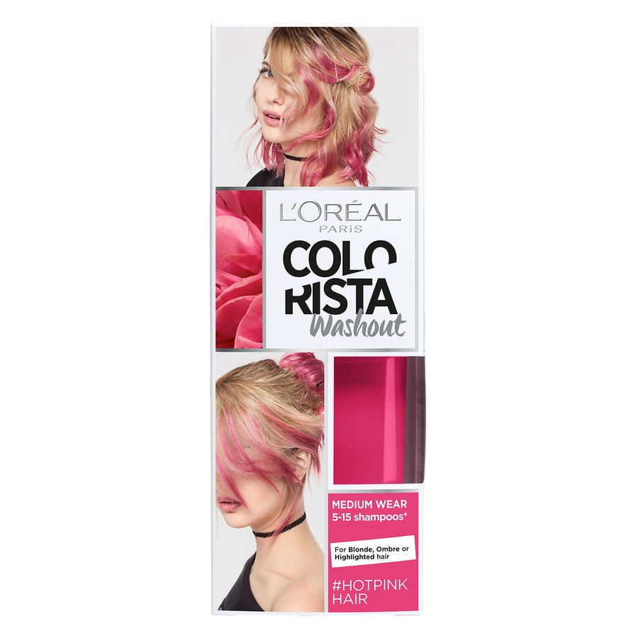 L'Oréal Paris Colorista 2 Weeks Washout 80 ml - 15 Hot Pink
