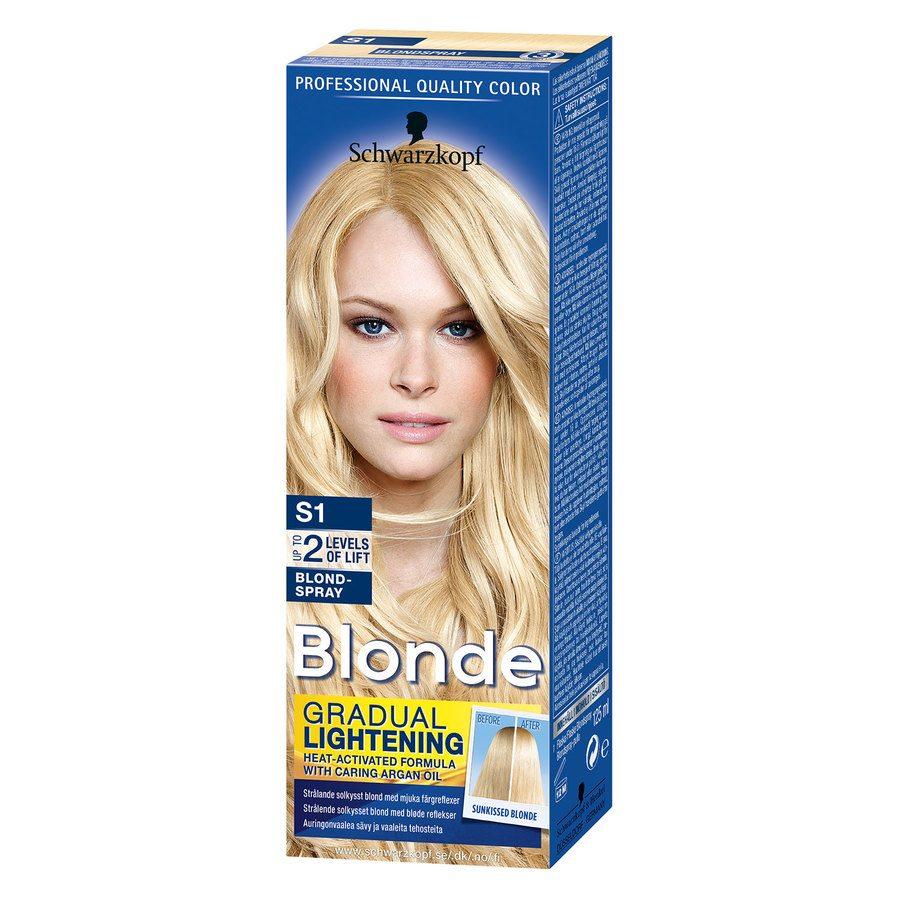 Schwarzkopf Blonde S1 Blond Spray 125 ml