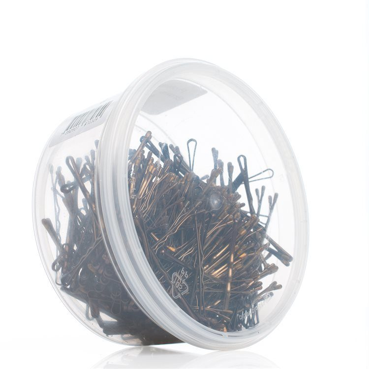 Professional Hairgrips Hiuspinni 59 mm 300 kpl Brown