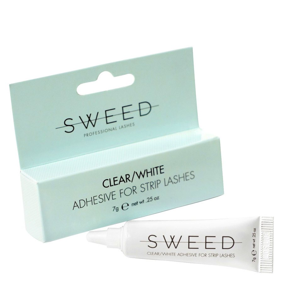 Sweed Lashes Clear/White Adhesive 7 g